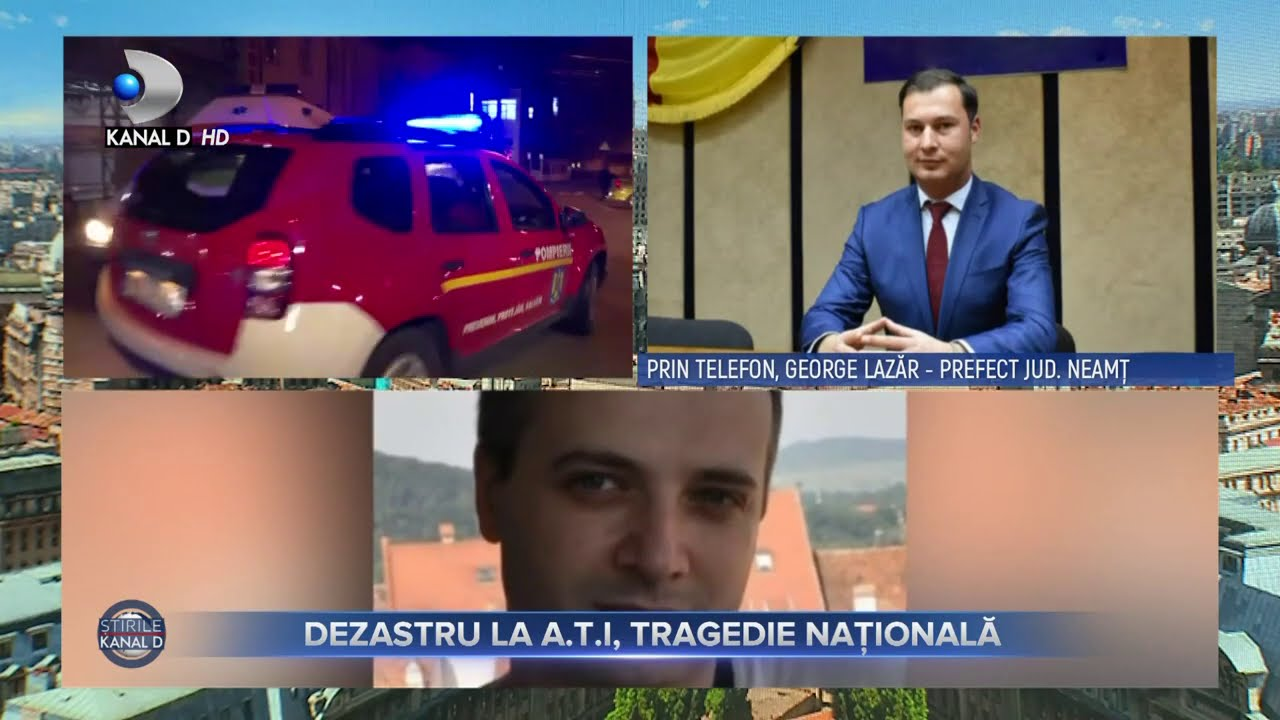 Stirile Kanal D(15.11.2020) - PIATRA-NEAMT - Dezastru la A.T.I, tragedie nationala | Editie de pranz