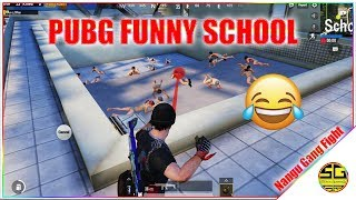 PUBG Funny School With SRten | Nangu Gang Mukka Fight 😋