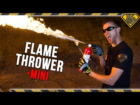 How to Build a Fire Extinguisher Flamethrower