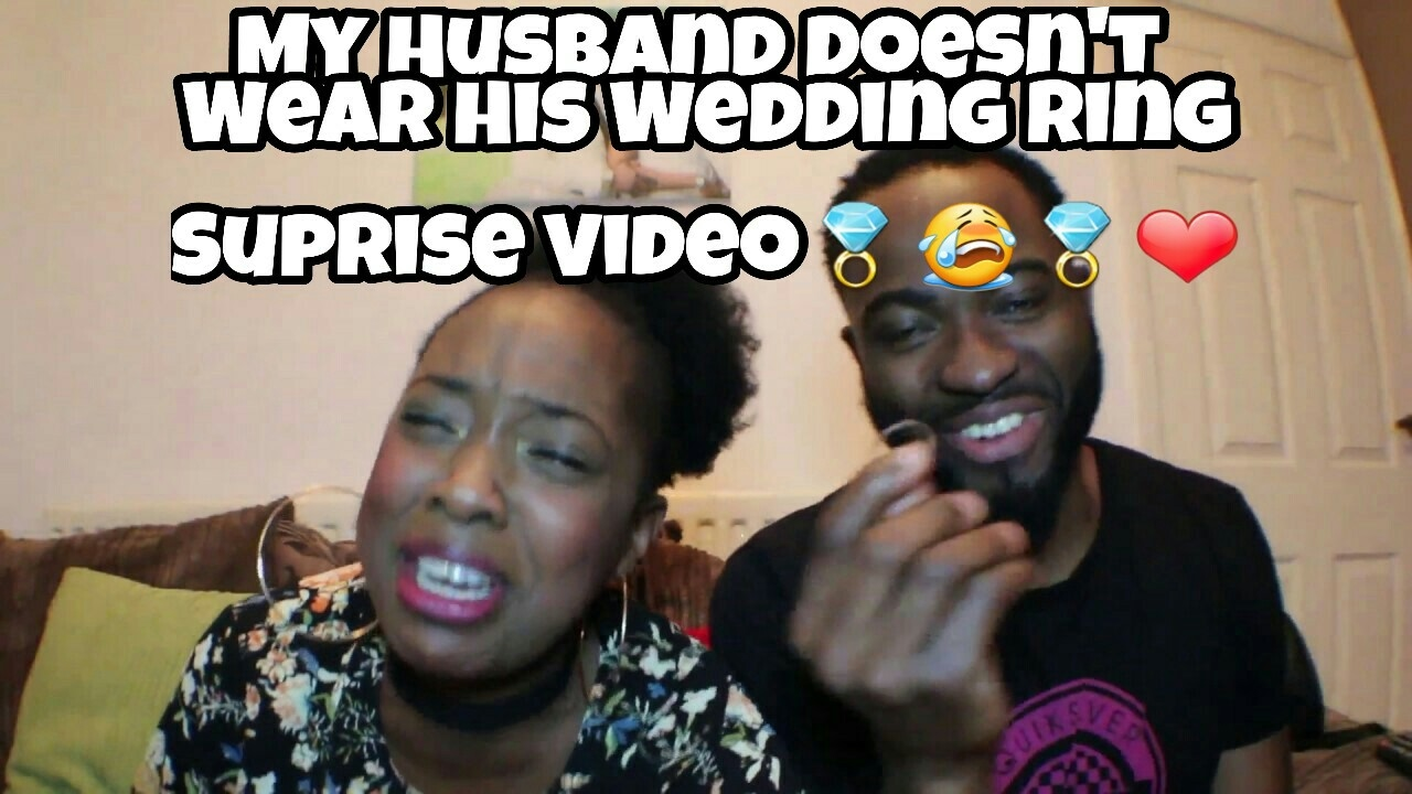 Why My Husband Doesnt Wear His Wedding Ring Surprise Video YouTube