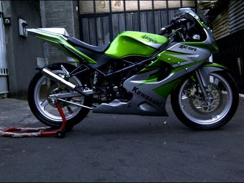 referensi modifikasi motor kawasaki ninja rr 150 new