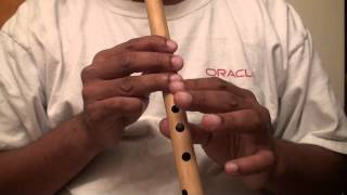 "Aaja sanam madhur chandani me hum hindi song on flute - ""Travails with my flute"""