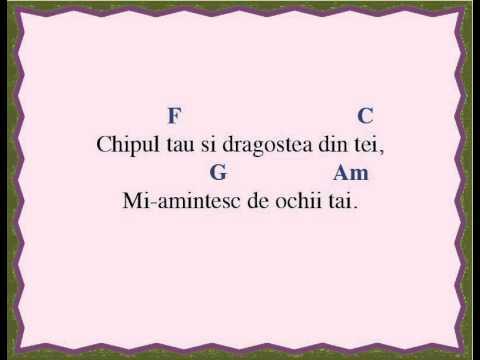 Easy Ukulele - Dragostea din tei (Chords and Lyrics)