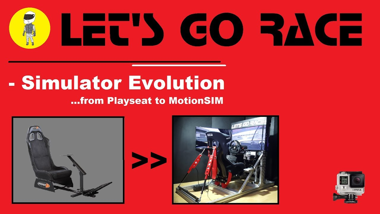 Simulator Evolution /    from Playseat to MotionSIM | Let's GO RACE