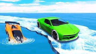 СМОЖЕТЕ ЛИ ВЫ ПРОЙТИ ЗИМНИЙ СКИЛЛ ТЕСТ? Гонки на машинах в GTA 5 Online! (гта 5 гонки муе)
