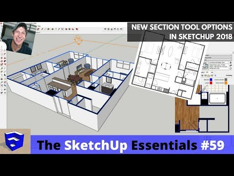 How to make section plane smaller in sketchup