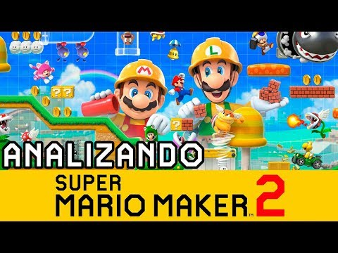 ANALIZANDO EL TRAILER DE SUPER MARIO MAKER 2 | Nintendo Switch - MarkGamer03