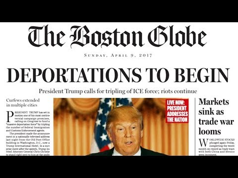 Boston Globe Joke PERFECTLY Predicted Trump Presidency