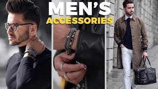 10 Accessories Every Man Must Have | Men's Fashion | Alex Costa