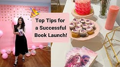 HOW TO HOST A SUCCESSFUL BOOK LAUNCH PARTY I TOP 10 TIPS!