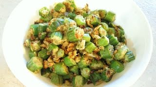 Fried Okra - Easy Pan Fried Recipe - Poormansgourmet