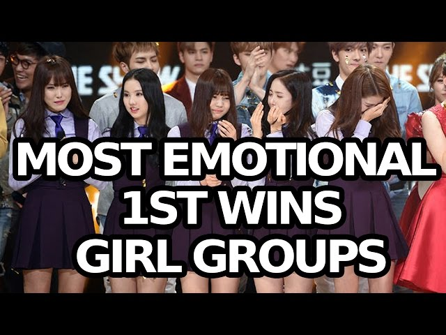 MOST EMOTIONAL 1ST WINS AND ENCORES! GIRL GROUP EDITION