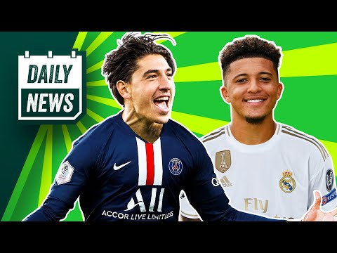 Real Madrid to hijack Jadon Sancho transfer + PSG want Arsenal man! ► Daily News
