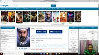 how to download sanju in pc hd