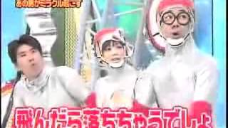 Game Show Funny Japanese-Human Tetris Hole In The Wall