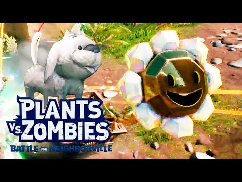Quests: Diamonds Aren't Forever And Pretty Well | Plants Vs Zombies Battle For Neighborville