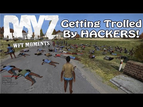DayZ: Whole Server Gets Teleported By HACKERS!