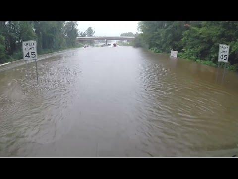 South Carolina Flooding From Hurricane Matthew
