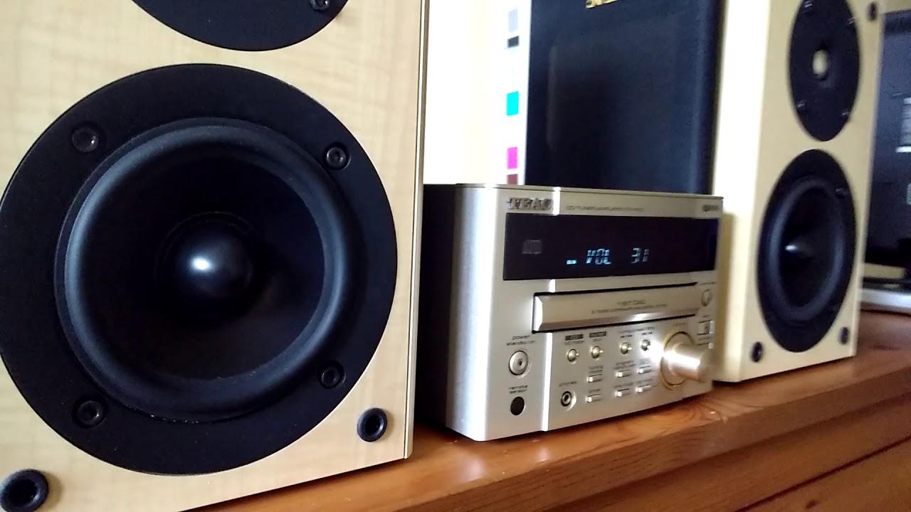 HI-FI CD RECECEIVER TEAC CR H100 / SPEAKERS LS-303U