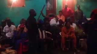 Haiti Voudou Ceremony Possession