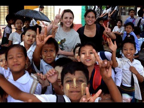 Unlike Anything I've Experienced: Teaching English in Myanmar