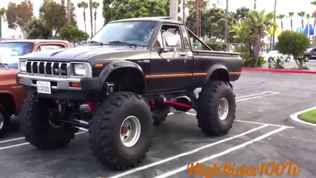 1982 Toyota Monster Truck Old School Mini Truckin - YouTube