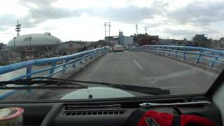 東日本大震災跡【<内海橋>石ノ森萬画館】