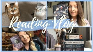 WEEKLY READING VLOG #33 The Book Junkie Trials Week 3! early birthday gifts and lots of cats :)