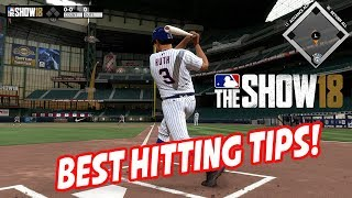 MLB The Show 18 Best Hitting Tips! Hitting Tutorial!