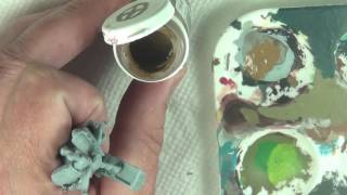 Quick Tip #20 - How to Thin Paint, and Apply a Base Coat