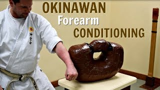 Okinawan Forearm Conditioning - Uechi Ryu Karate