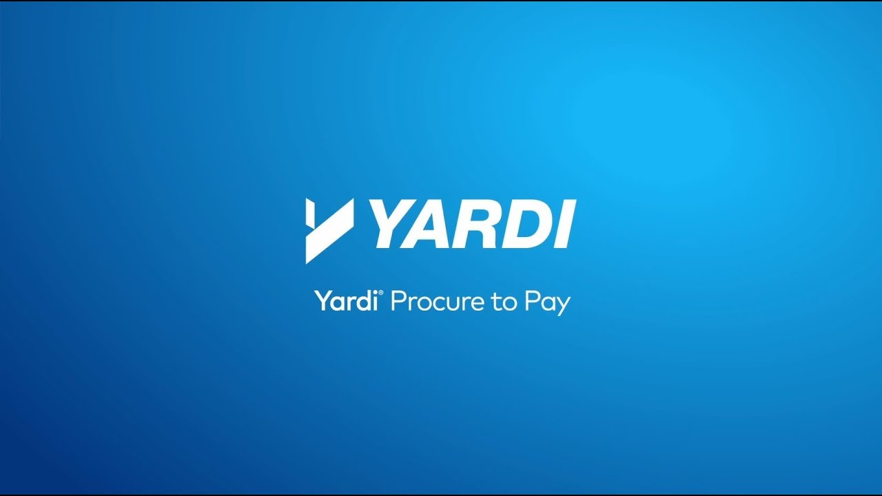 Procurement Streamlines on Yardi: Procure to Pay