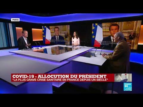 Coronavirus - Covid-19 : Quelle analyse tirer de l'allocution d'Emmanuel Macron ?
