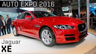 2016 Jaguar XE :: 2016 Auto Expo WalkAround video :: ZigWheels India