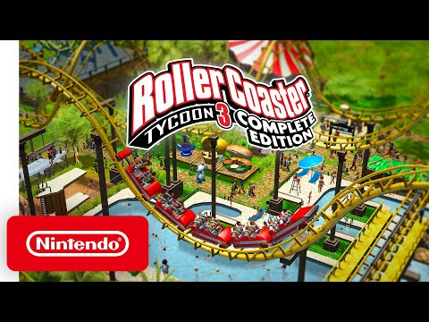 RollerCoaster Tycoon 3: Complete Edition - Launch Trailer - Nintendo Switch