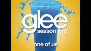 Glee Cast- ONE OF US  with lyrics - Joan Osborne