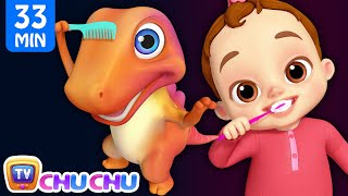 This Is The Way We Brush Our Teeth Good Habits Song + More ChuChu TV 3D Nursery Rhymes & Kids Songs thumbnail