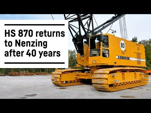 Restaurierung des ersten Liebherr-Seilbaggers HS 870