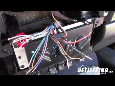how to: install stereo wire harness in a 1997 to 2001 jeep cherokee xj -  getjeeping - youtube  youtube