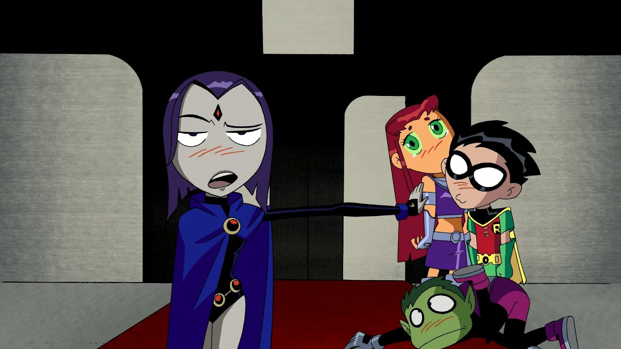 """Download Teen Titans Cheering Up Cyborg - Teen Titans """"Only Human"""""""