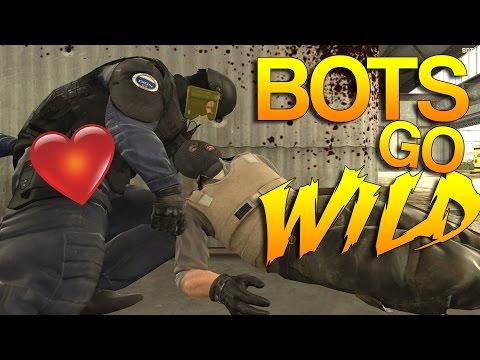 CS:GO - BOTS go WILD!