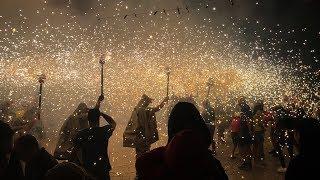 The Night of Fire: Festa Major de Santa Tecla in Sitges, Spain