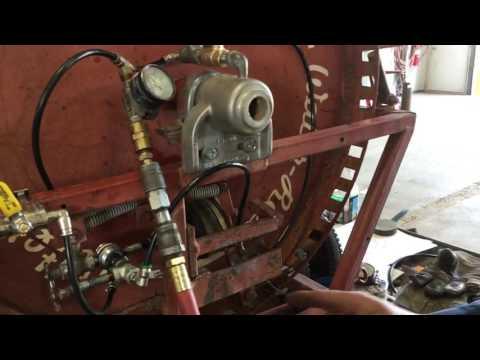Ag Rain Water Reel drive mechanism traveling gun irrigation kifco water winch