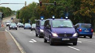 [SEK wird blockiert] 2 Zivilfahrzeuge SEK Polizei Baden-Württemberg