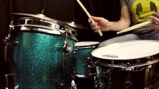 RICH IRWIN - Sonor Martini Special Edition Kit