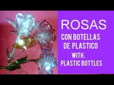 ROSAS CON BOTELLAS DE PLASTICO editado/ROSES WITH PLASTIC BOTTLES