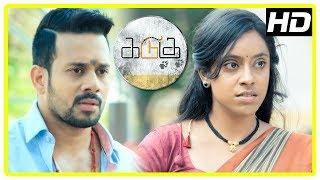 Kadugu Movie Scenes | Bharath fights goons who misbehave with girls | Rajakumaran | Radhika