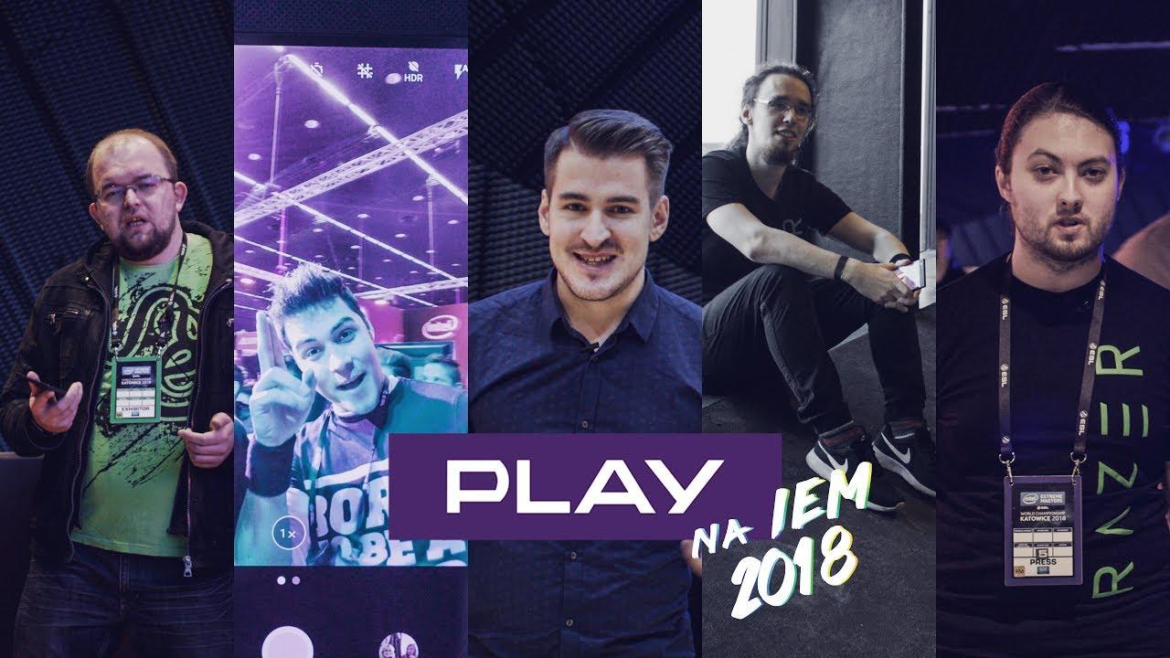 Relacja z Intel Extreme Masters 2018   Team Play x Razer