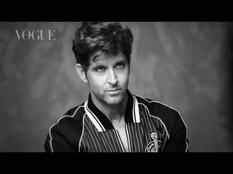 Thumbnail: Watch the making of Hrithik Roshan and Lisa Haydon's Vogue cover