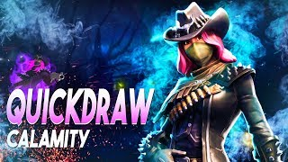 *Max Level* Quickdraw Calamity Review | Mythic Soldier | Fortnite Save The World